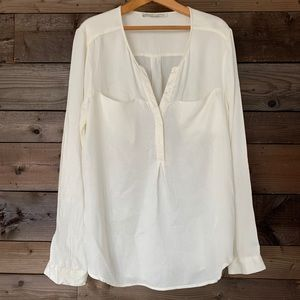 Daniel Rainn off white blouse
